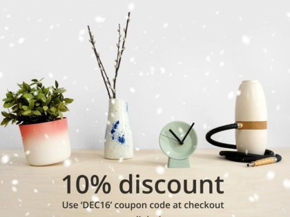 Christmas sale at Studio Lorier! In december get 10% discount on all items. So get your gifts now, and receive them before Christmas