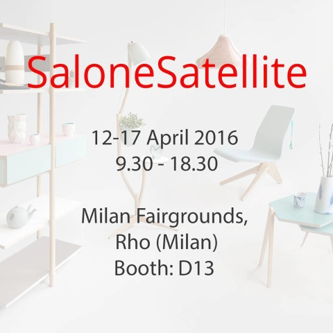 See you in #milan? #salonesatellite #fuorisalone #salonedelmobilemilano #salonedelmobile