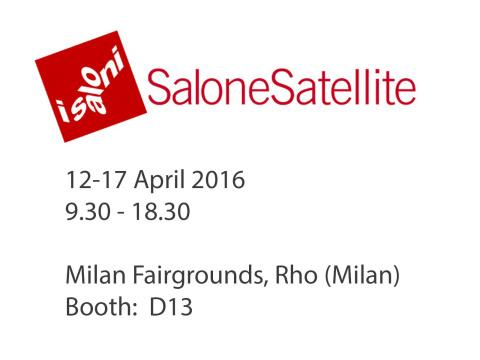 Salone satellite 2016 design studio lorer