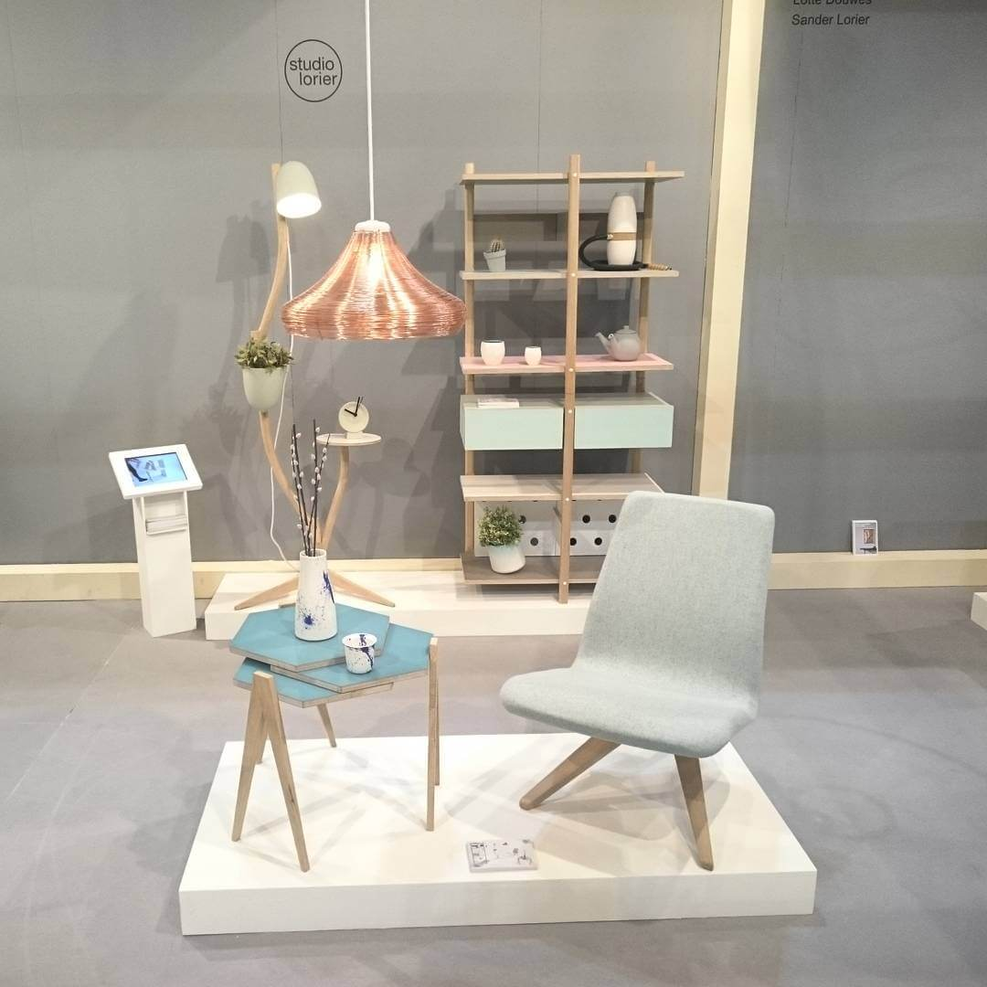 Let's go, fitst day at #salonesatellite2016 #isalone #salonedelmobilemilano #isaloniofficial #studiolorier
