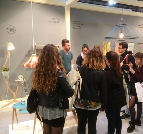 Thank you all for visting the #salonedelmobilemilano #salonesatellite2016 #thanks #studiolorier #greatsuccess