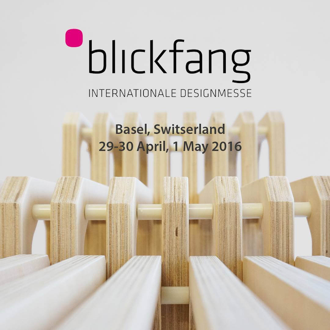 Hope to see you in Basel. #Blickfang #designmesse #design #switzerland #studiolorier #announcement