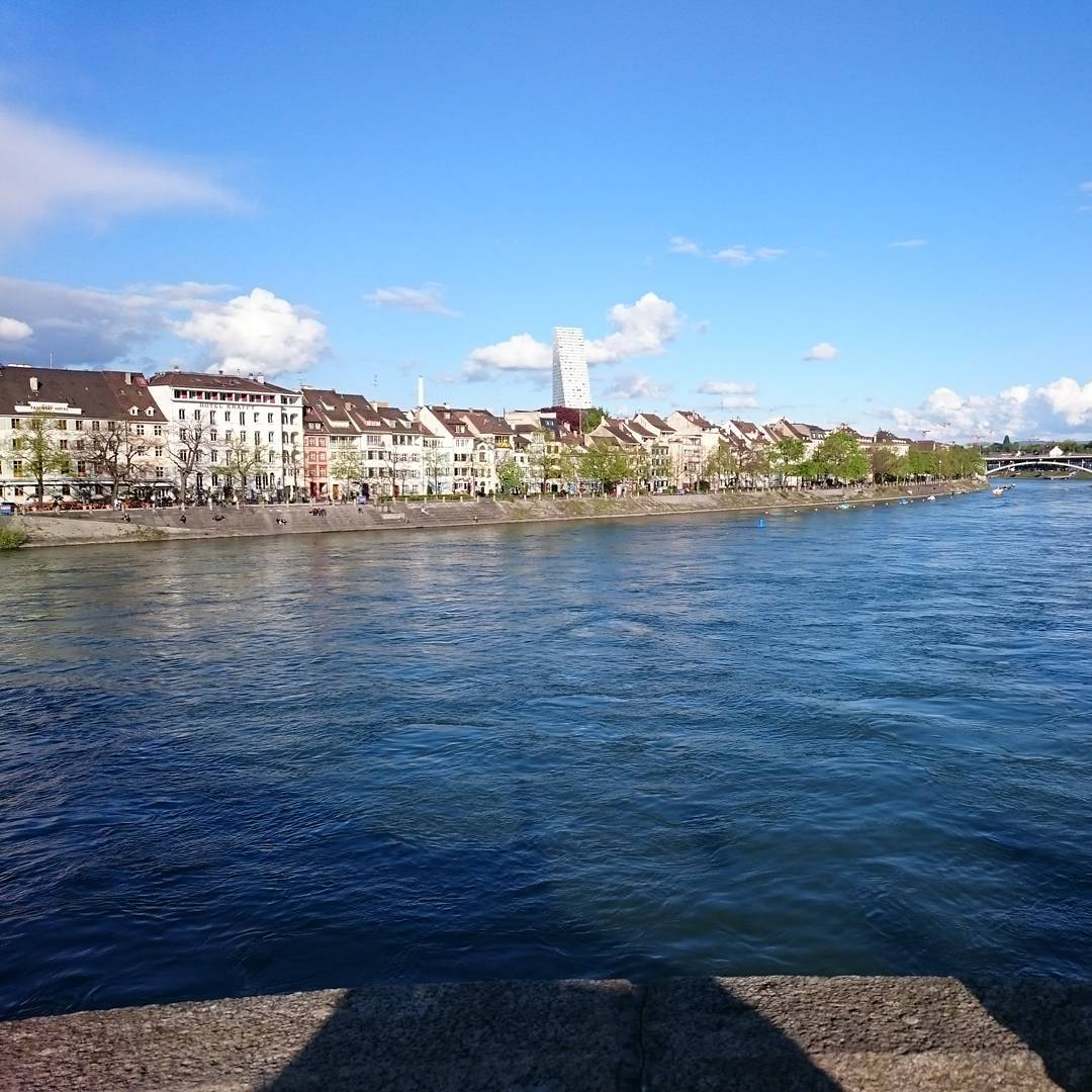 Finally arrived in beautiful #Basel #schweiz #switzerland #blickfang #design #studiolorier