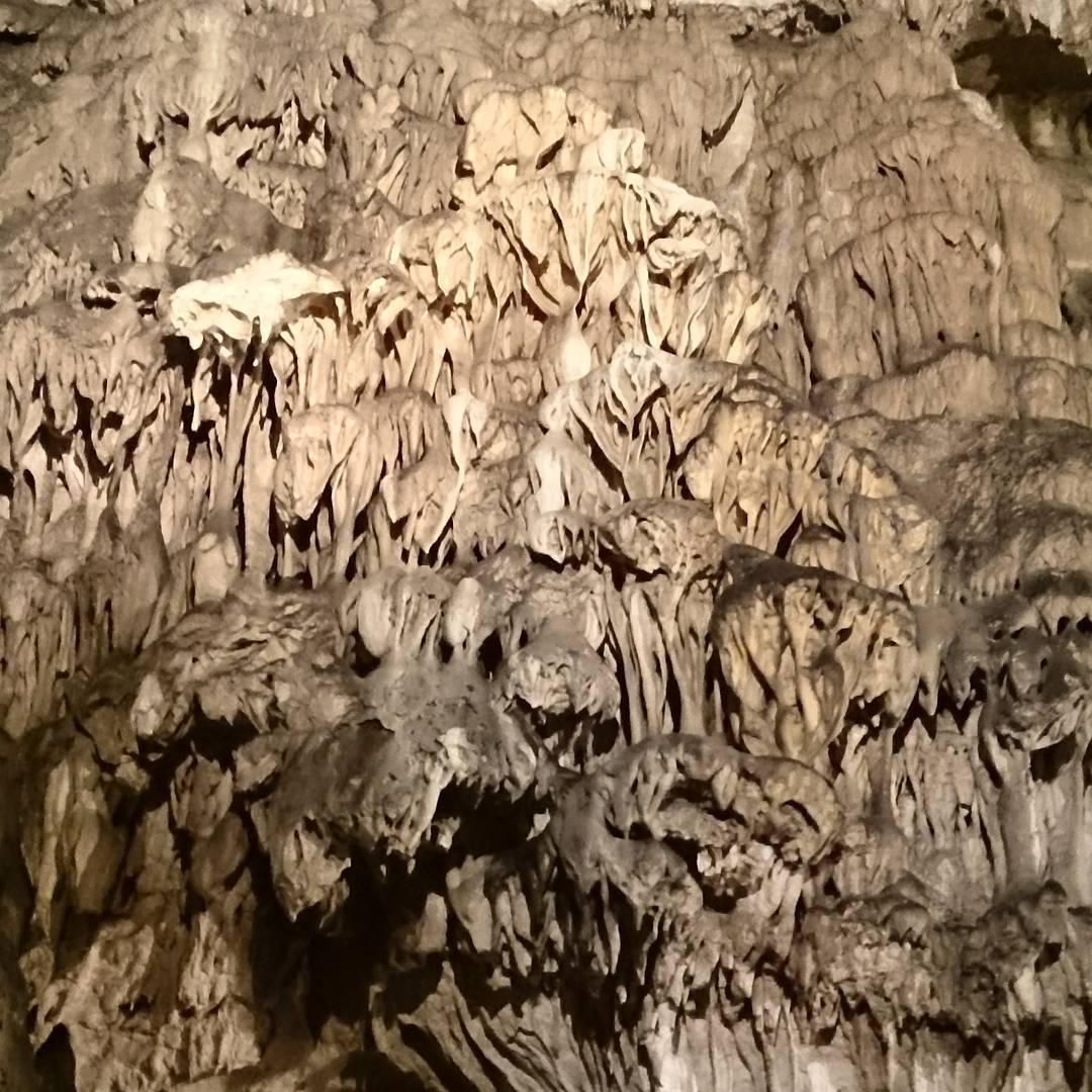 Weird shapes in ice caves #Slovakia #tatramountains #holiday #roadtrip