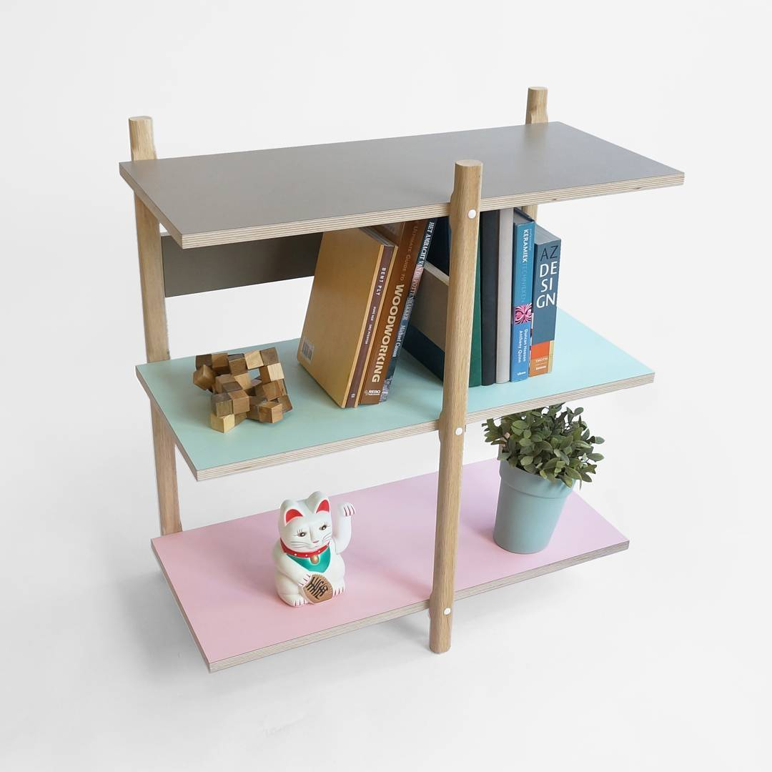 Want to see multiple configurations of the modular stack shelving, come to the london design fair, booth N24