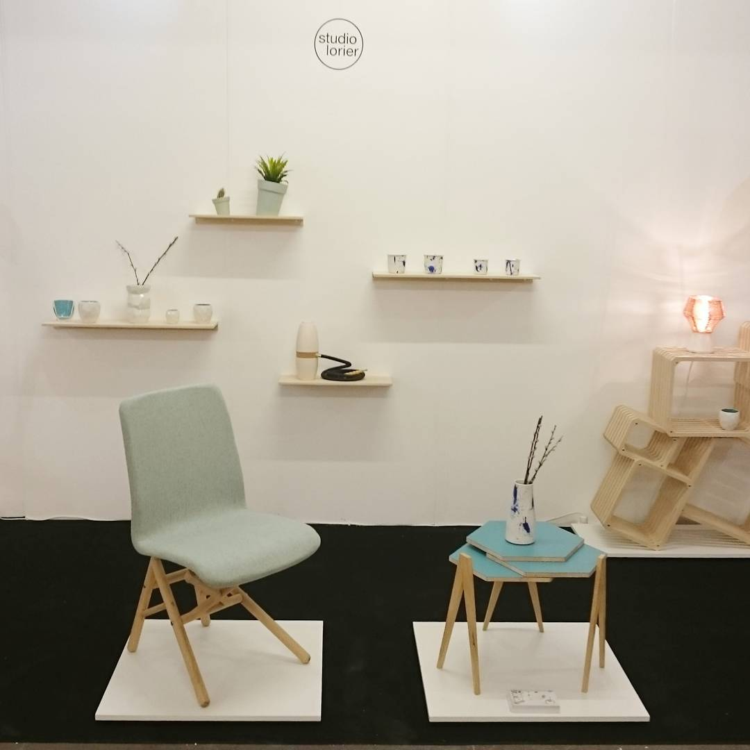 Fist day of the london design fair. Really happy with the presentation. Soon more pictures