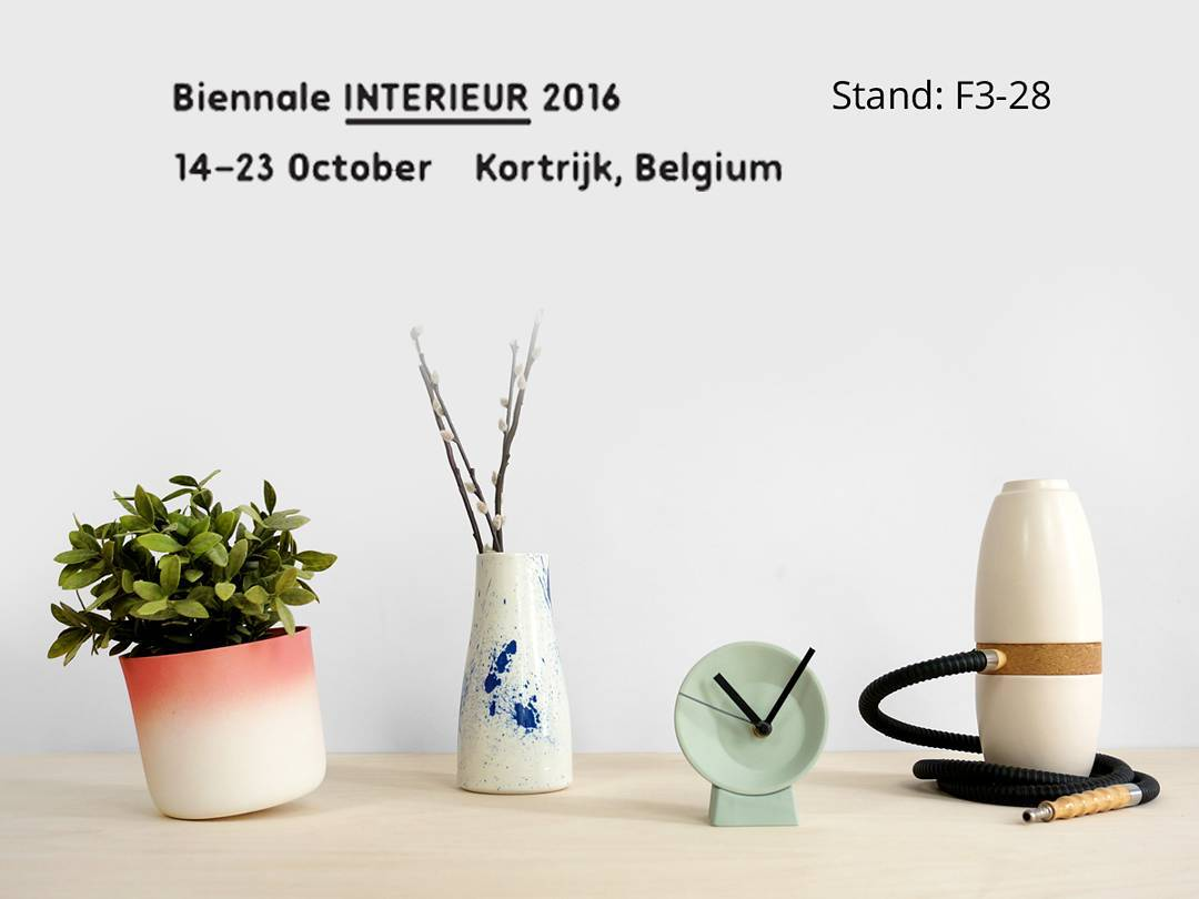 After london, we are getting ready for @interieur, which starts October 14th