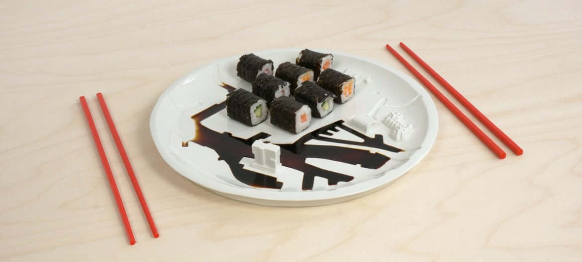 Porcelain City Plate of more... - 640x376