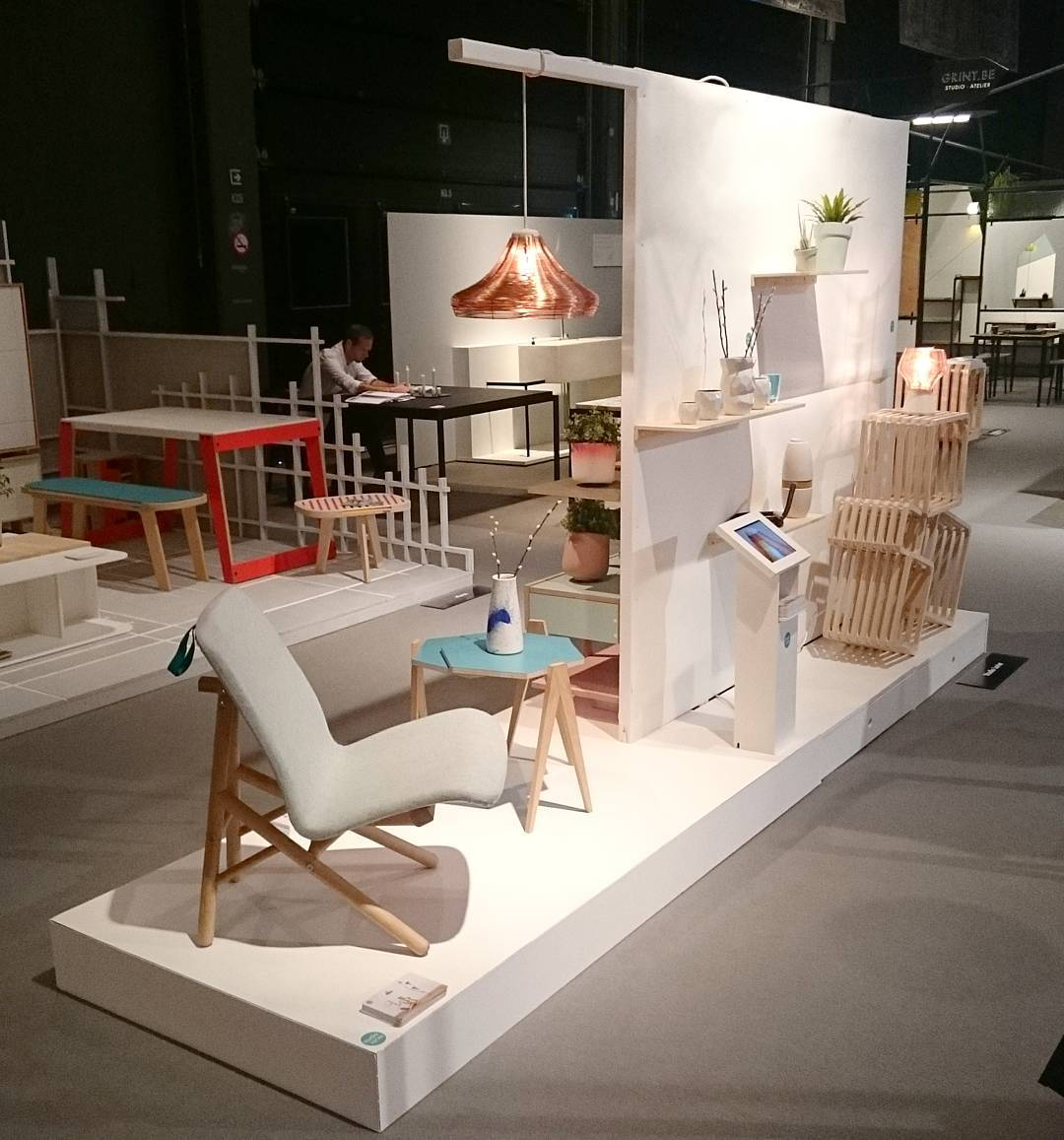 All set for day 2 @interieur_be. Now open for public