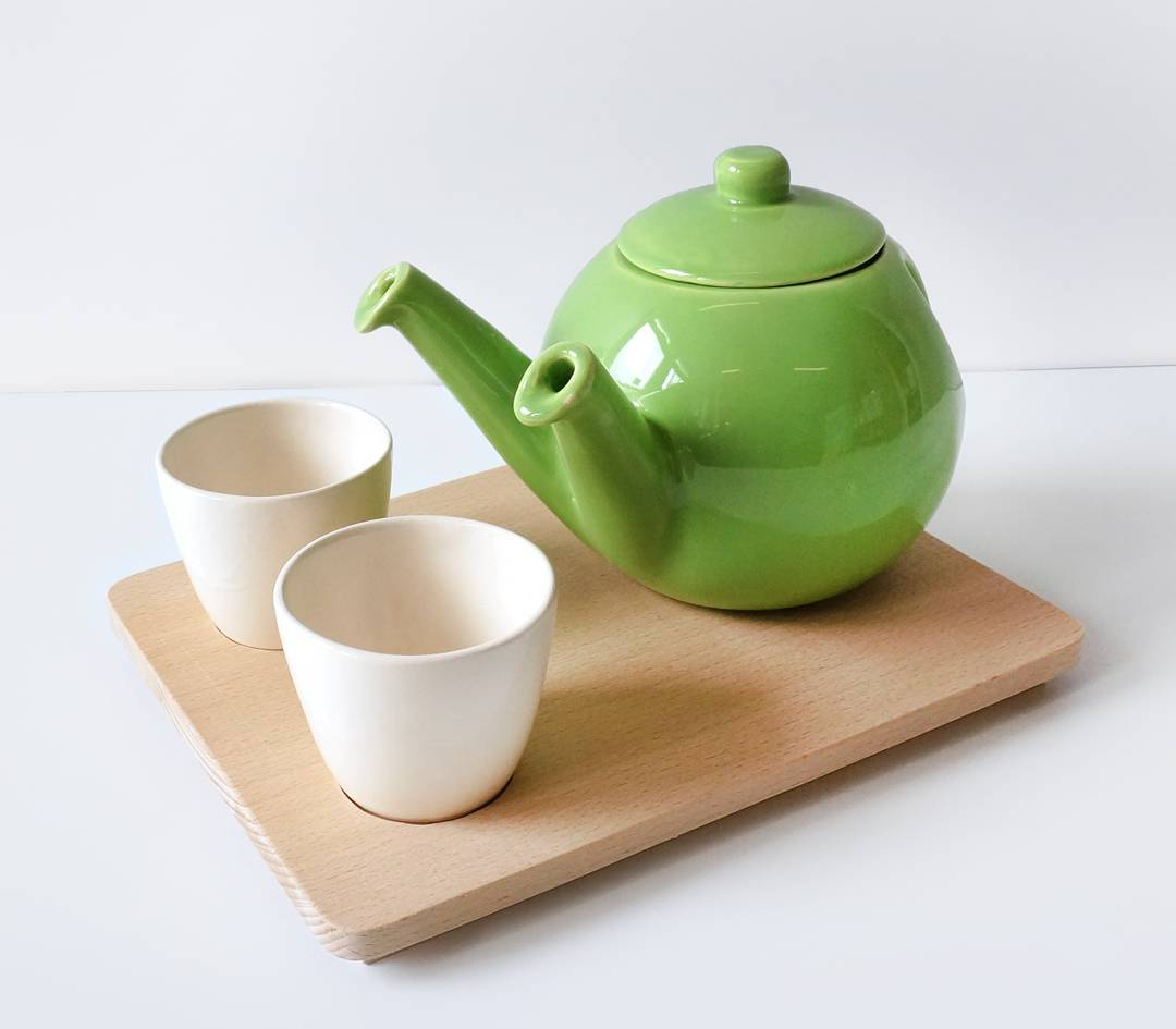Sharing is caring. This Teagether as two spouts, ideal for sharing tea
