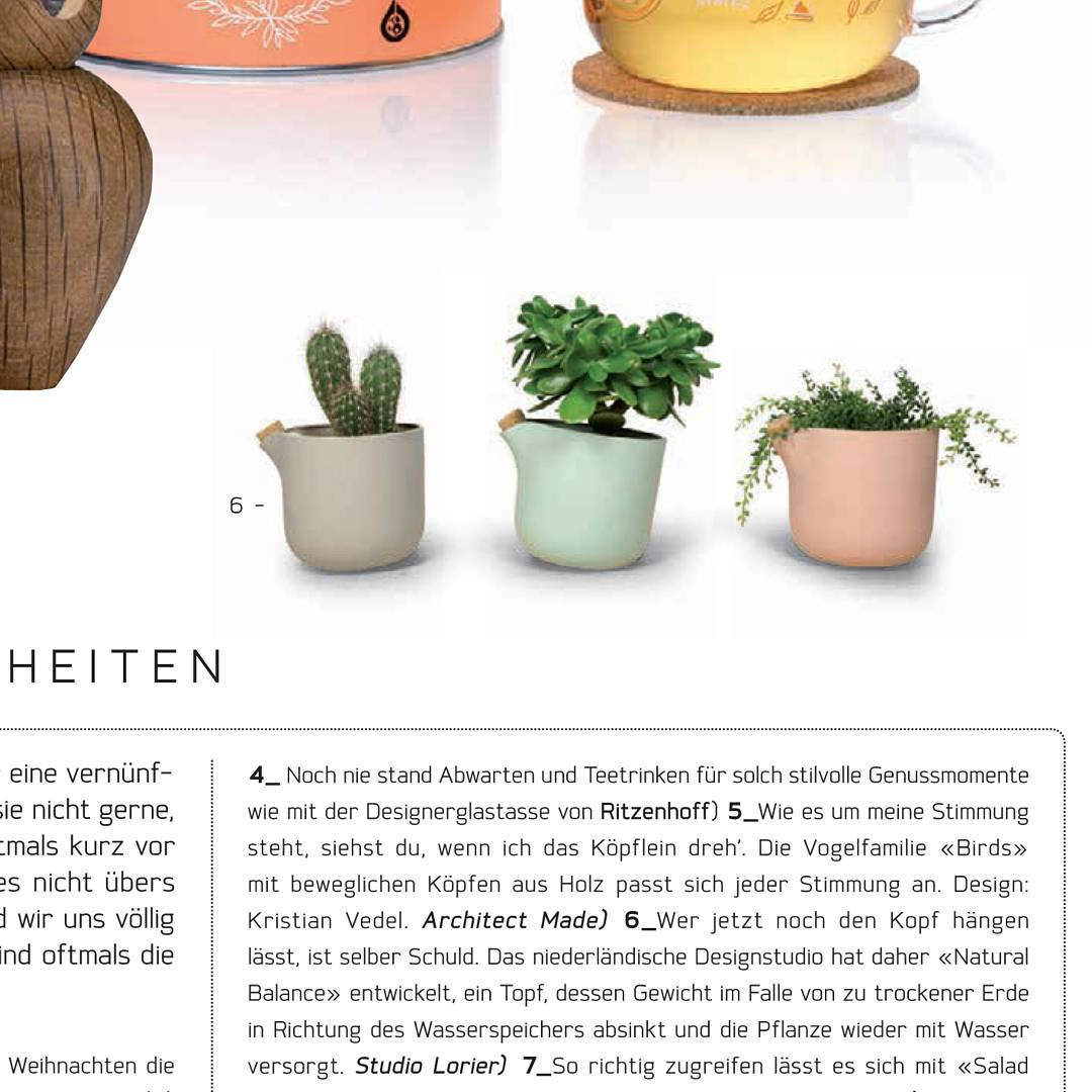 Nice to see the featured in magazine watering