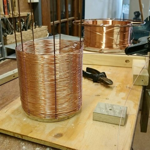 Time to weave another shape into copper wire