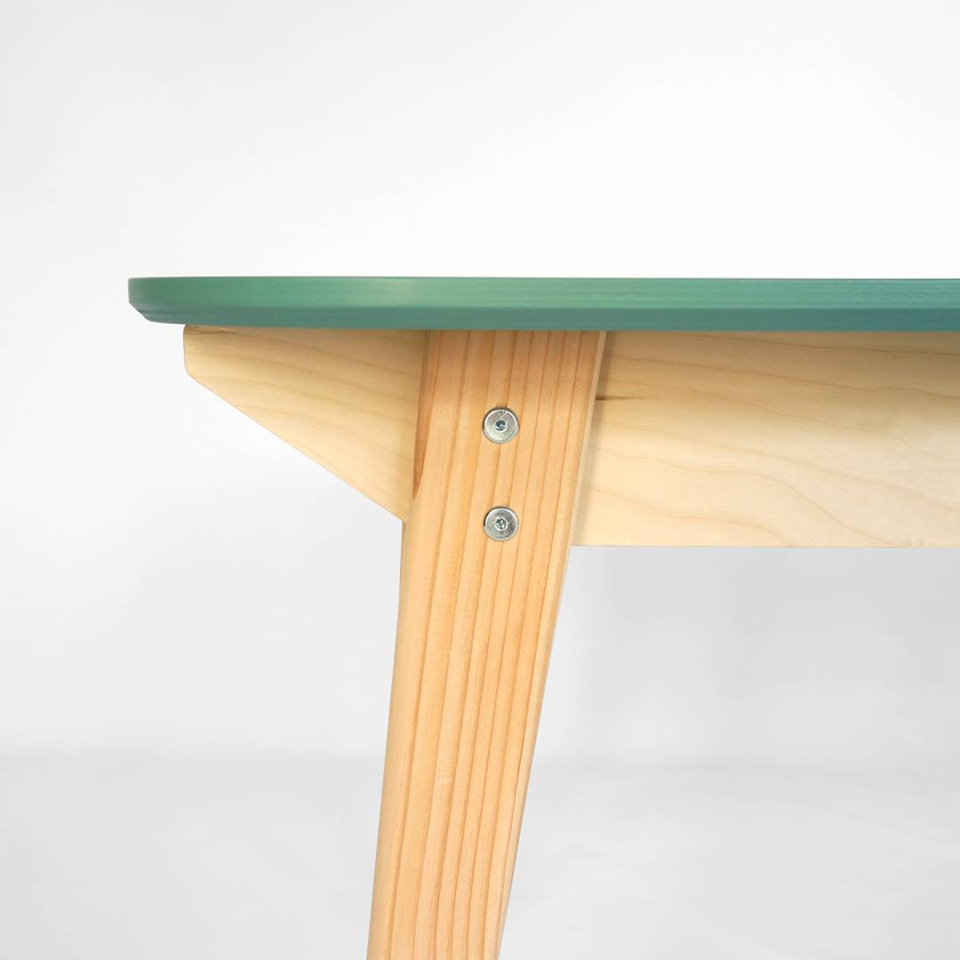 Detail of table leg