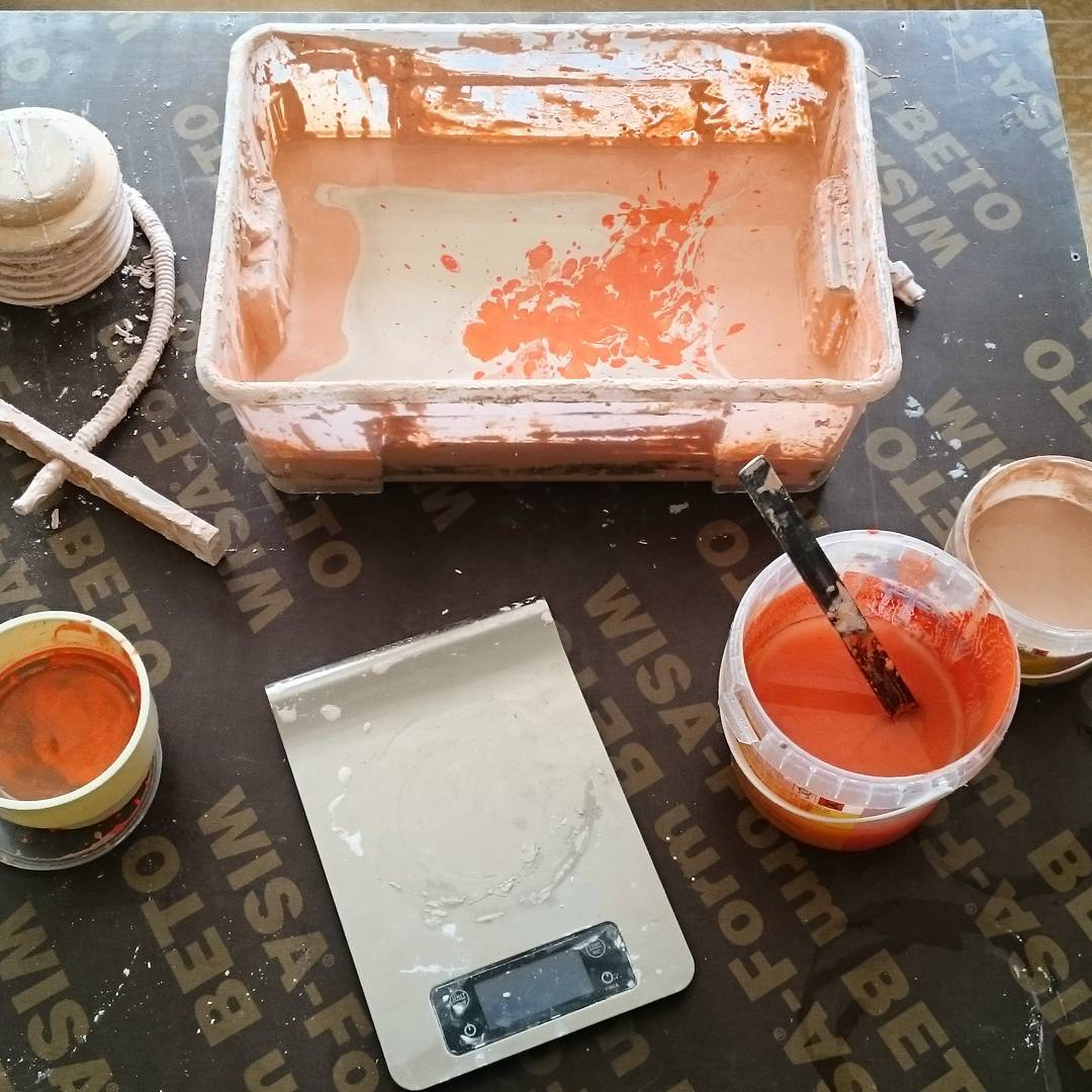 Mixing orange