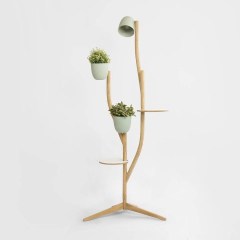Our multi-purpose furniture, inspired by the branches of a tree: branch-out