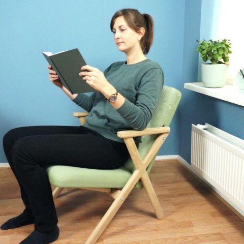 Transform easily from lounge to desk/dinner chair. ONLY 3 days left @dwellmagazine