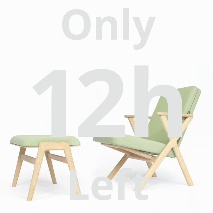 Counting the hours, only 12 hours left to support us in making the Hybrid Chair