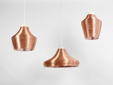 The last couple of days of the year we present you our most popular products of 2017. On 7th place: the Copper Braided Pendant Lamps