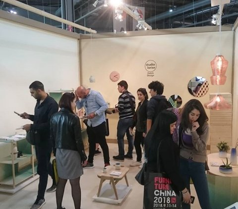 Busy times ☺ at salone satellite #18