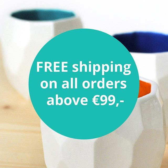 Celebrate the summer! ☀ Now free shipping on all orders above €99