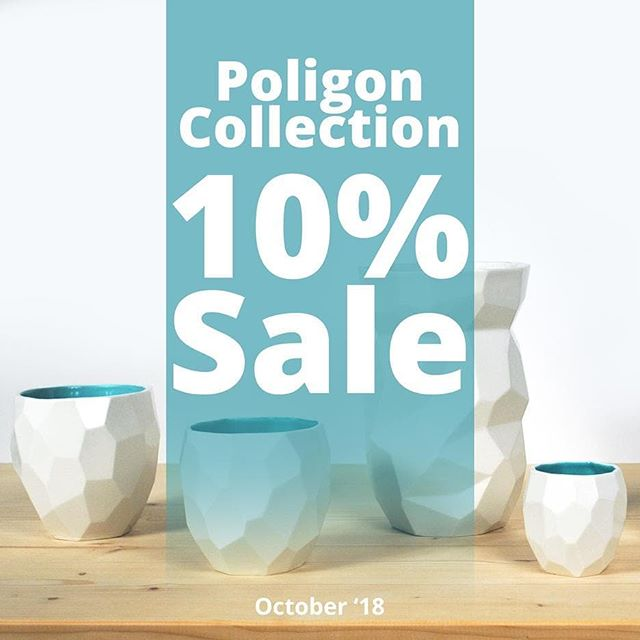 Poligon MADNESS this October! 💥SALE💥10% discount on all Poligon items! Get yours in the webshop.💥 link in bio.