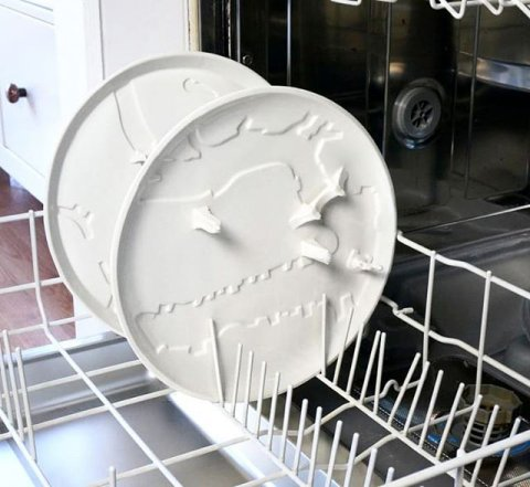 All plates are food-safe and non-toxic, suitable for oven and dishwasher