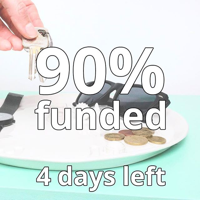 💥reached 90 %💥 who will be the lucky one to fully fund the City Plate?