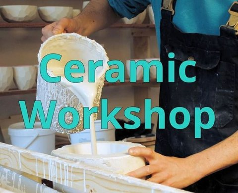 💥NEW: 💥want to know how to make ceramics? This is the chance! In a 6 course workshop we will guide you by making a mold, casting porcelain, glaze and decorate to a finished product. Starting this January.  Link in bio