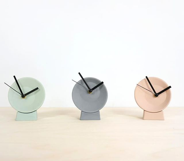 Christmas time? With these Off Centre clocks you will always have the right time. Desk or wall