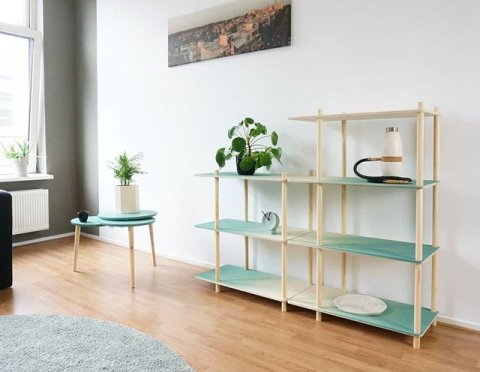 Gradient Shelving and Slider Table