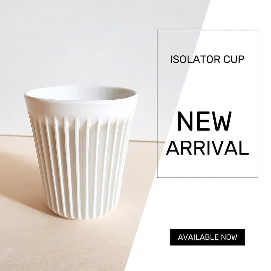 💥A new design💥 The Isolator Cup. Due to the fins you will not burn your hands on any hot drink. Now available in our webshop.  Inspired by old air-cooled engines