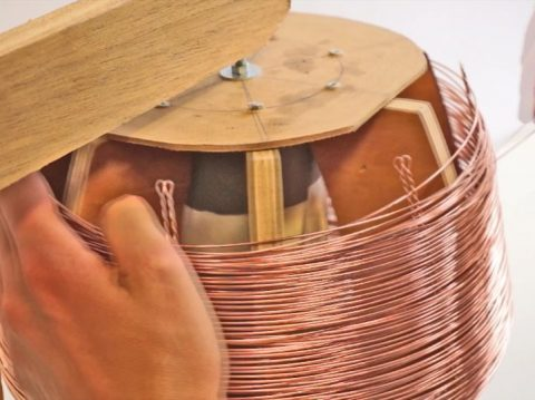 That's how the copper lamps are made