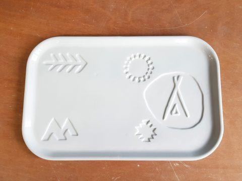 ceramic custom plate design bord aangepast klant volgens wensen