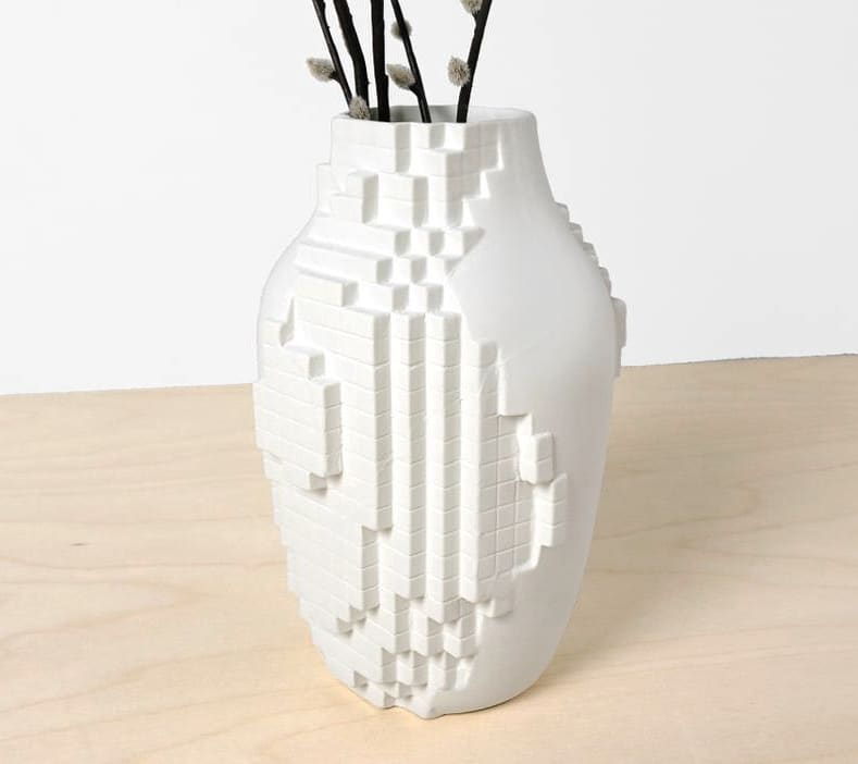 Pixel Vase, 💐available in our shop